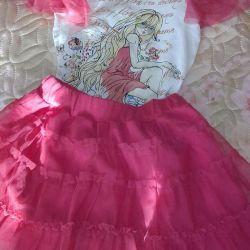 Pelican costume for girl