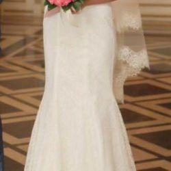 Платье свадебное дизайнерское