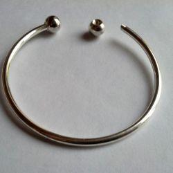 Bracelet base for charms