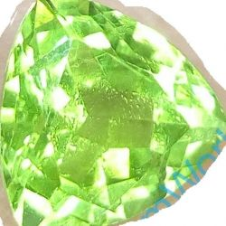 Natural chrysolite 2.28 ct