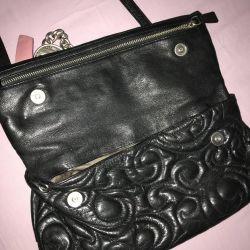 Domani black handbag