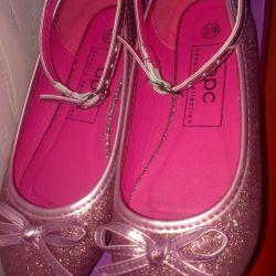 Γυαλιστερά παπούτσια