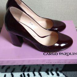 Кожаные туфли Carlo Pazolini