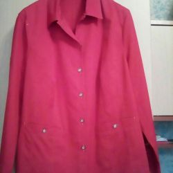 The jacket is new 56- 58 size