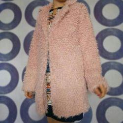 Furry coat new