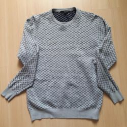 Calvin Klein sweater and t-shirt