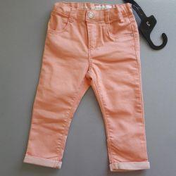 Нові штани для дівчинки, розмір 86-92