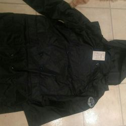 Shortened raincoat for men (water protection)