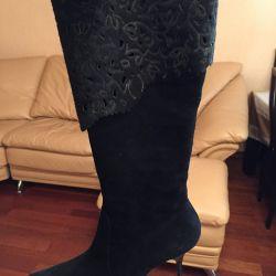 Pony Γούνες μπότες