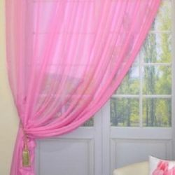 Blind curtain hot pink 300 * 240