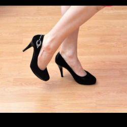 Ayakkabı deri yardımcısı, boyut 35. İyi durumda