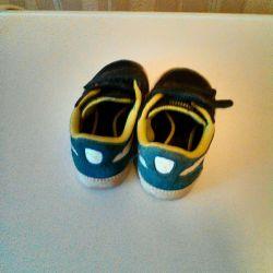 Pantofi pentru copii Puma, nat.zamsha, piele