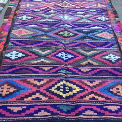 Kilim Tabasaransky manual. Oriental carpet.