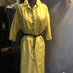 Dress shirt 48 r, women, raincoat fabric, USA
