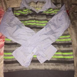 Рубашка обманка новая