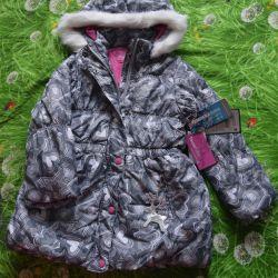 Yeni kış ceket palto Tokka kabilesi