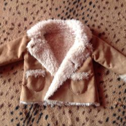 Sheepskin coat children's p74
