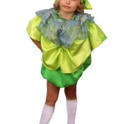Children's carnival costume Cabbage