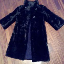 Urgently! Mink coat 44-46