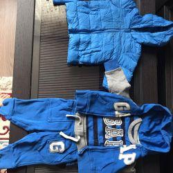 Спортивный костюм Gap 6-9месяцев для мальчика