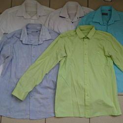 5 used shirts p 158