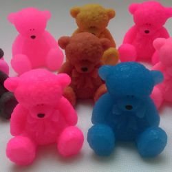 Handmade soap, bear