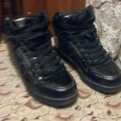 REFLEX spor ayakkabısı doğal vernik. deri s.37