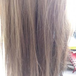 Procedure thermokeratin for hair