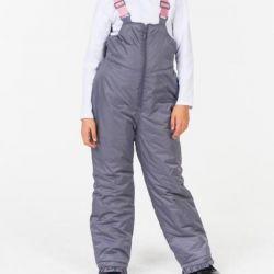 Kızlar için tulum sıcak pantolon