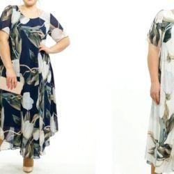 Τα φορέματα είναι νέα μεγέθη 52-66.