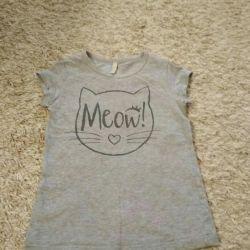Kız için tişört r. 110