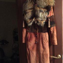 Хутряне пальто р-р 44