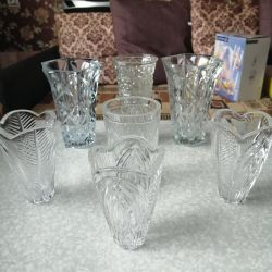 Crystal vases of the USSR