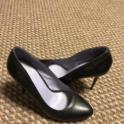 Siyah deride mükemmel Palasso Doro ayakkabı