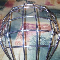 Helmet grille
