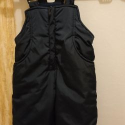 Semi-overalls children's winter 92 cm