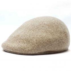 Șapcă din lână 504 (bej)