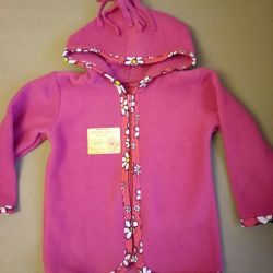 New fleece blouse