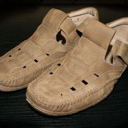 Туфли коричневые 1 раз ношеные