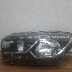 Headlight left Lada X-Ray oem 260600467R (holes in the body) (scrap. Latch.) (Skl-3)