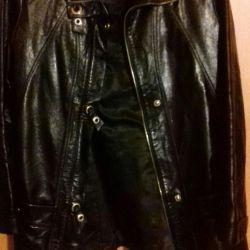 Deri ceket (kadın)