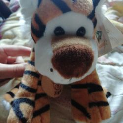 Soft toy tiger 17 cm