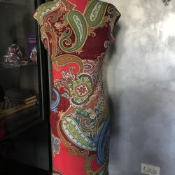 Dress knitted jersey 46 r, Italy, new