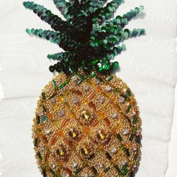 Designer embroidery on clothes