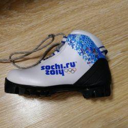 Παπούτσια σκι 32 και 35 σ.