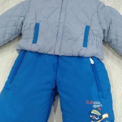 New! Winter overall 3 in 1