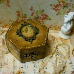 Jewelry box decoupage decor gift