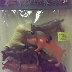 Set de animale de companie, 6 buc.