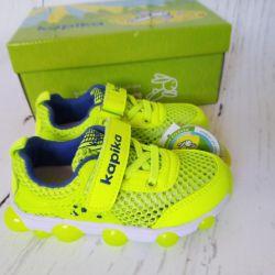 Νέα αθλητικά παπούτσια με λάμψη που αναβοσβήνει kapika 17cm
