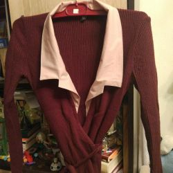 Jacket, Cardigan with a collar